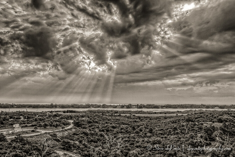 Beams of Light , Second Place in 2014 Jonathan Dickinson State Park Photo Contest