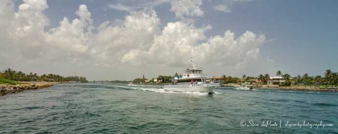 In the Jupiter Inlet